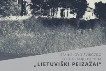 """Fotografijų paroda """"Lietuviški peizažai"""" Prienų krašto muziejuje"""