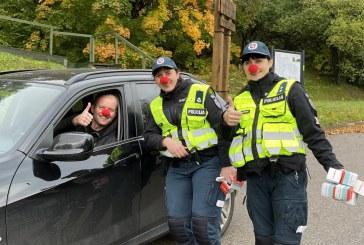 Tarptautinė šypsenų ir Lietuvos kelių policijos diena Prienuose