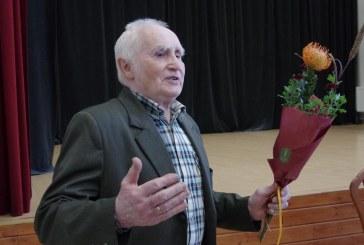Kraštiečiui, sporto dėstytojui Juozui Skernevičiui – 90. Sveikinimai ir knygos pristatymas  (Fotoreportažas)