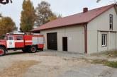 Jiezne pristatytos ir pašventintos atnaujintos ugniagesių komandos patalpos