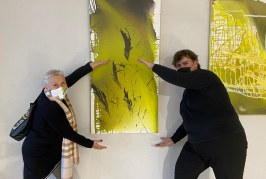 """Danieliaus Aldakausko meninių darbų paroda """"Jungtys"""" (Fotoreportažas)"""