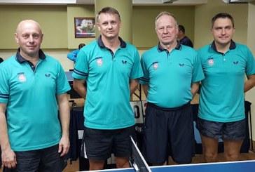 Prienų krašto stalo tenisininkai dalyvauja dviejų lygų varžybose